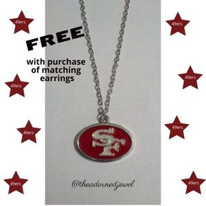 ❤️🏈San Francisco 49ers Fashion Jewelry Necklace🏈